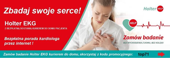 na stronie holterhelp.pl wpisz kod promocyjny: top71